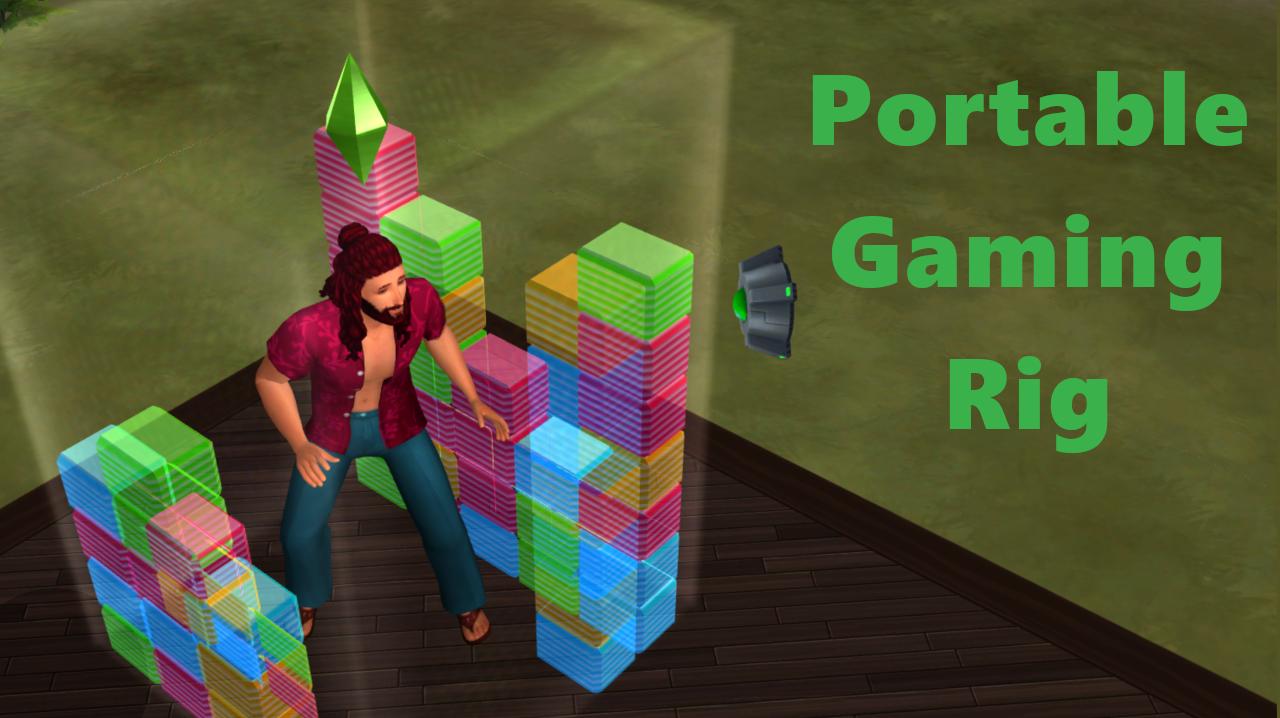 Мод Портативная игровая установка