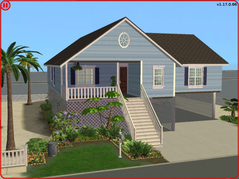 Mod the sims cute beach house for Photos of cute houses
