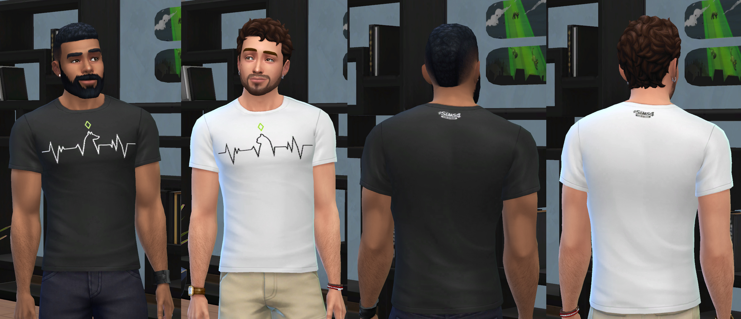 Sims 4 Cc Male Shirts - Nils Stucki Kieferorthopäde