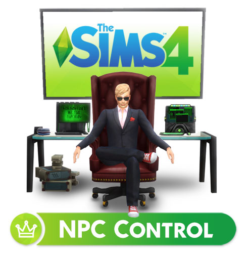 Mod The Sims - NPC Control v  1 2 2 (5 jul 2019)