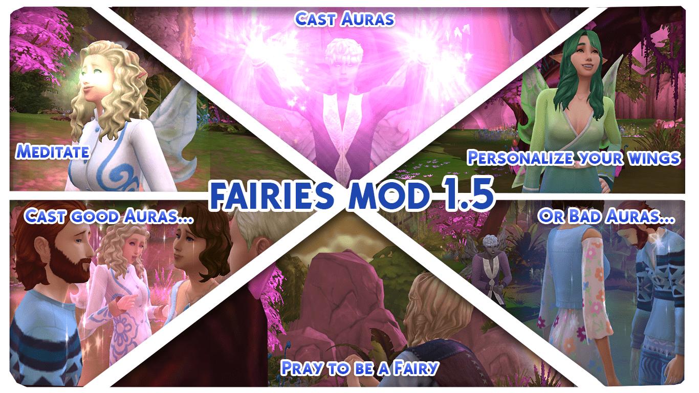 Mod The Sims - Fairies Mod V1 5 [KINDA WORKS] Read description