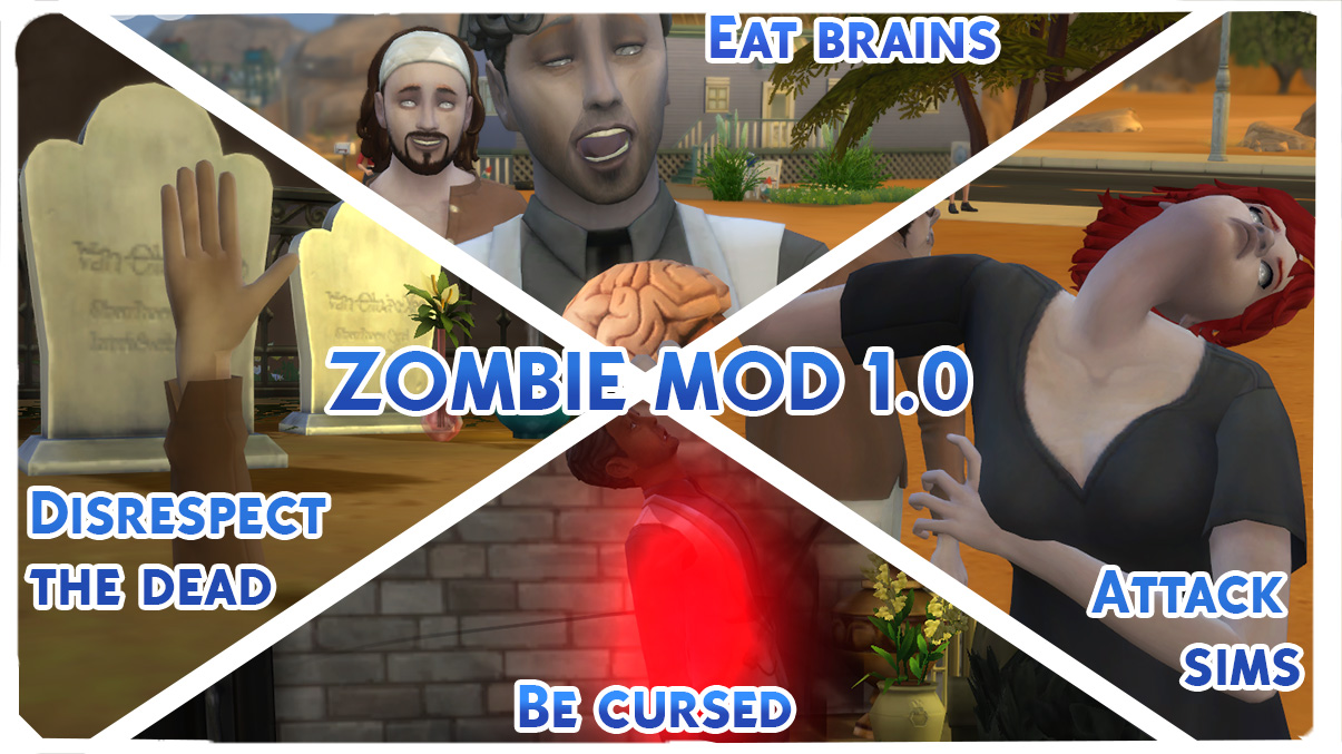Mod The Sims - Zombie Mod V1 0 [KINDA WORKS] Read Description