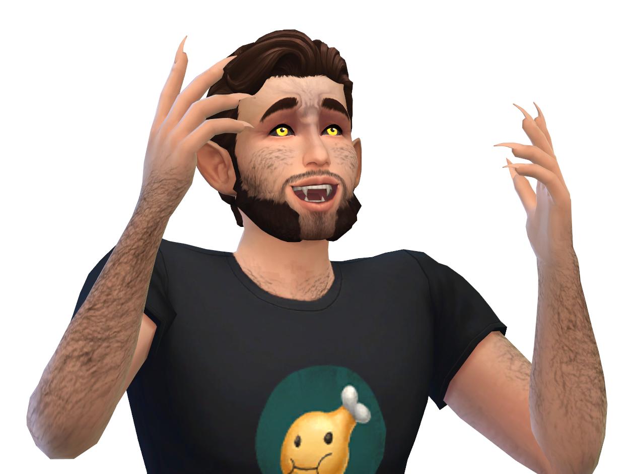 Mod The Sims - Werewolf Mod V1 1 [KINDA WORKS] Read description!