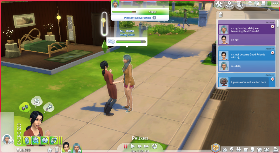 Mod The Sims - Slower Relationship Progression