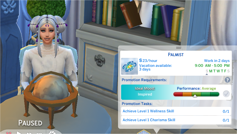 wellness skill sims 4