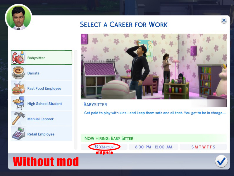 Mod The Sims - 50% Lower Career Salaries (Updated June 2019)