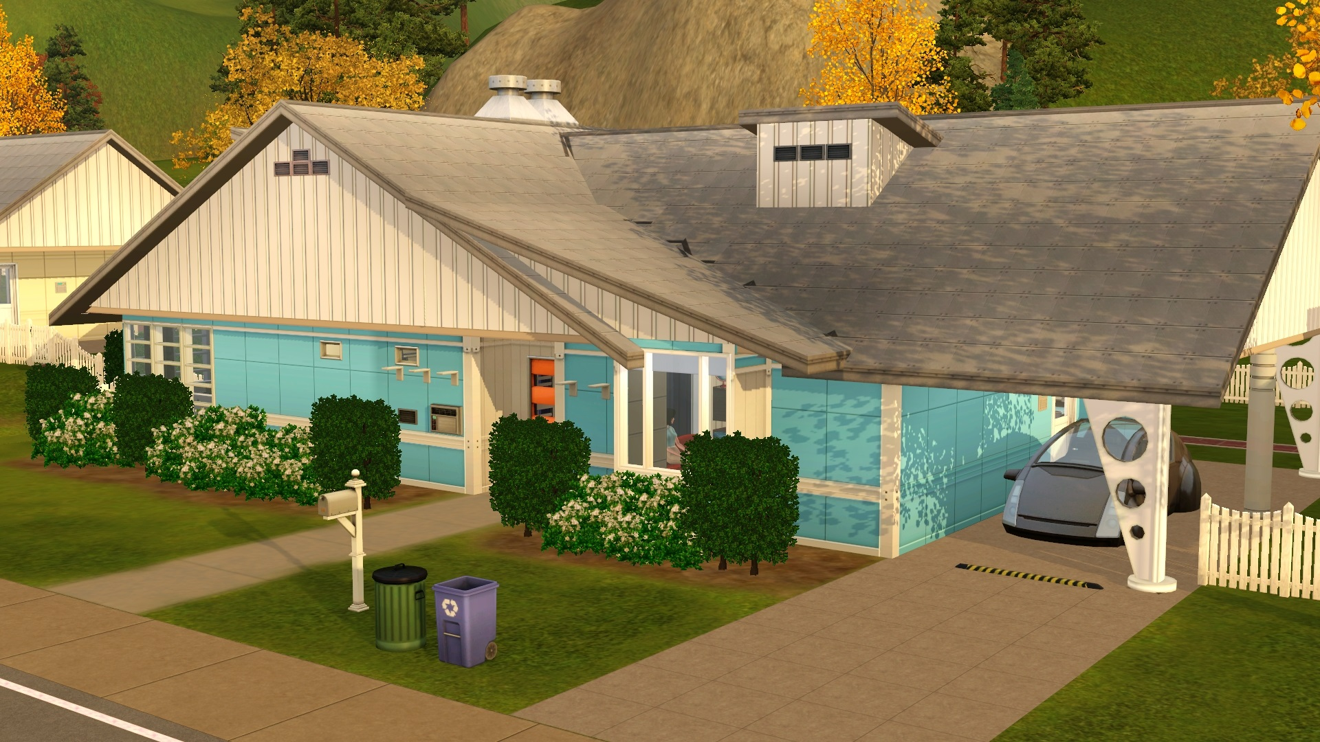 Mod The Sims - The House of Tomorrow - Fallout 4