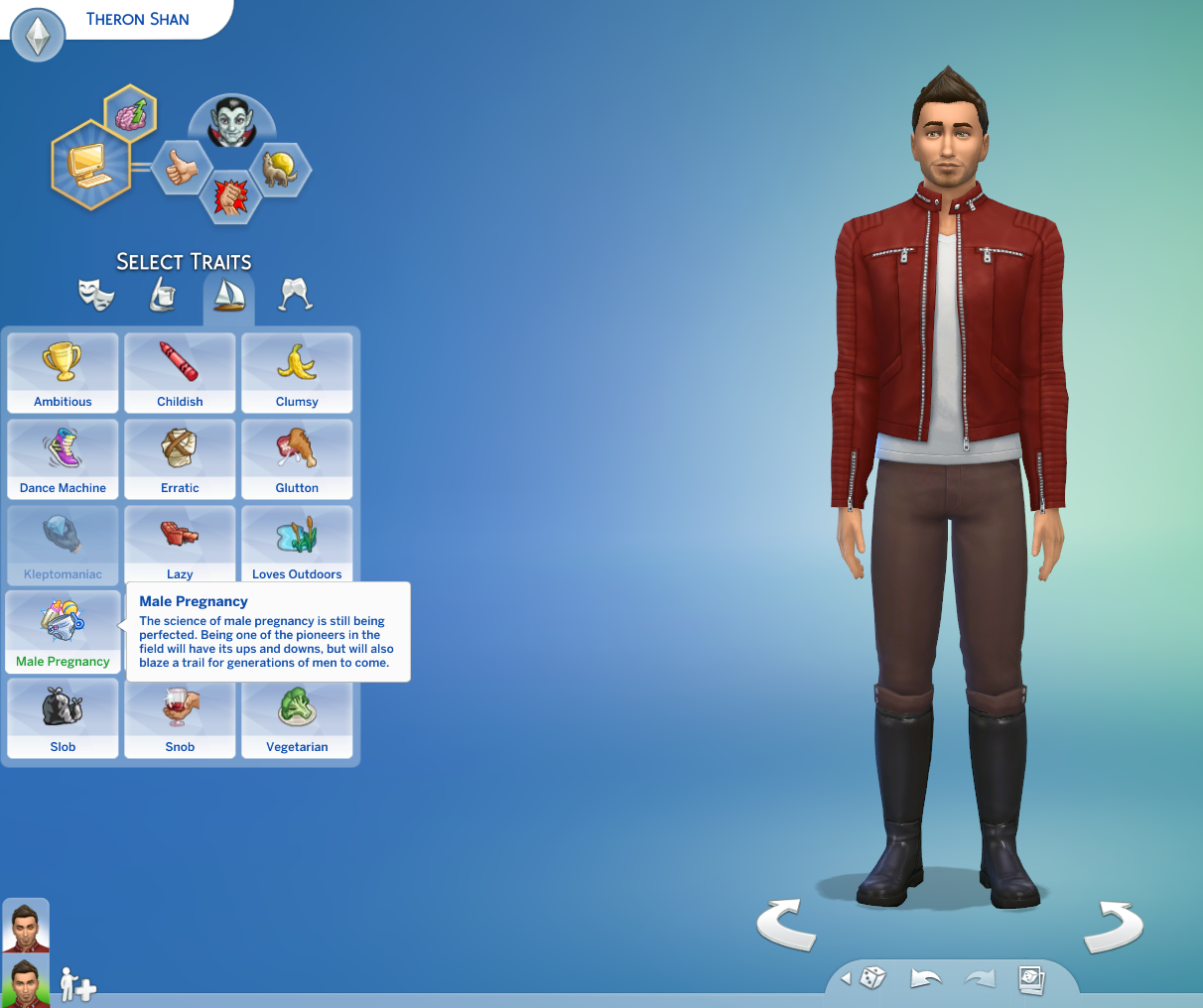 By Photo Congress || Sims 3 Male Pregnancy Cheat Code