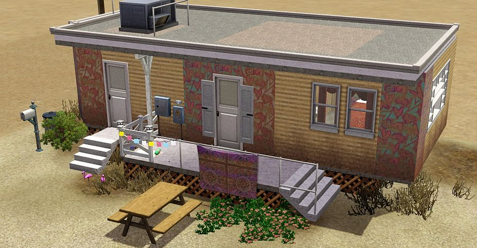 mod the sims from gta 5 desert living. Black Bedroom Furniture Sets. Home Design Ideas