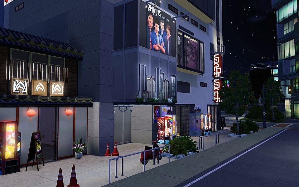 1 2 7 3 Down The Rockefeller Street: Tokyo Mashup: Pachinko City Block