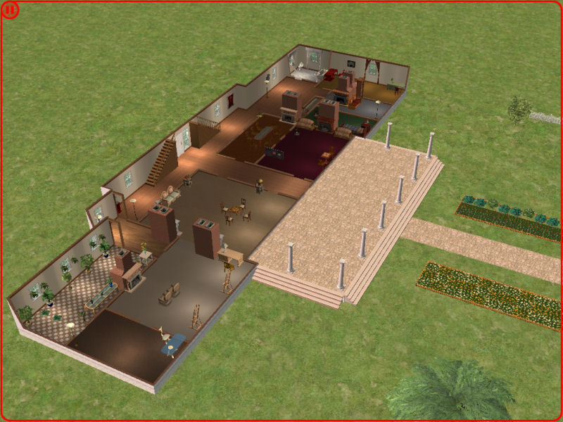mod the sims   arlington house general lee s mansion