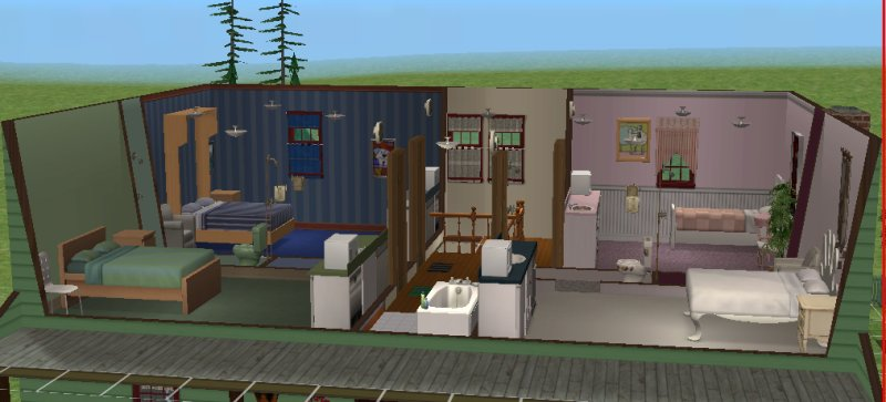 Boarding house in project 6