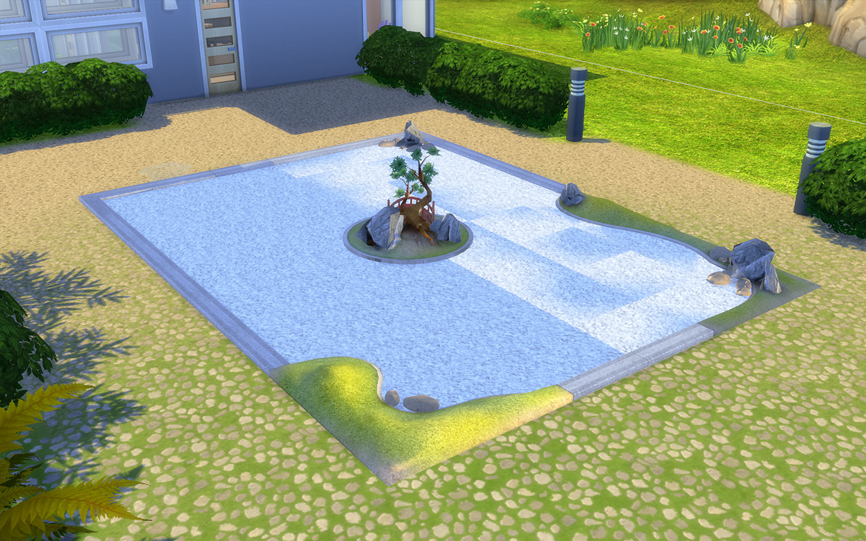 Modthesims downtime for Garden conversion