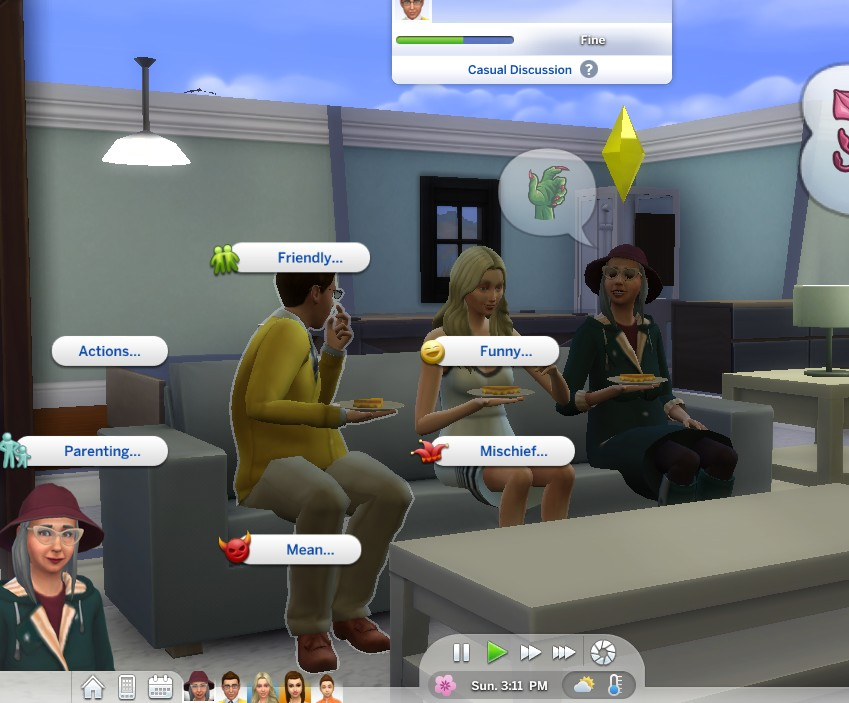 Mod The Sims - parenting interactions updated and unlocked