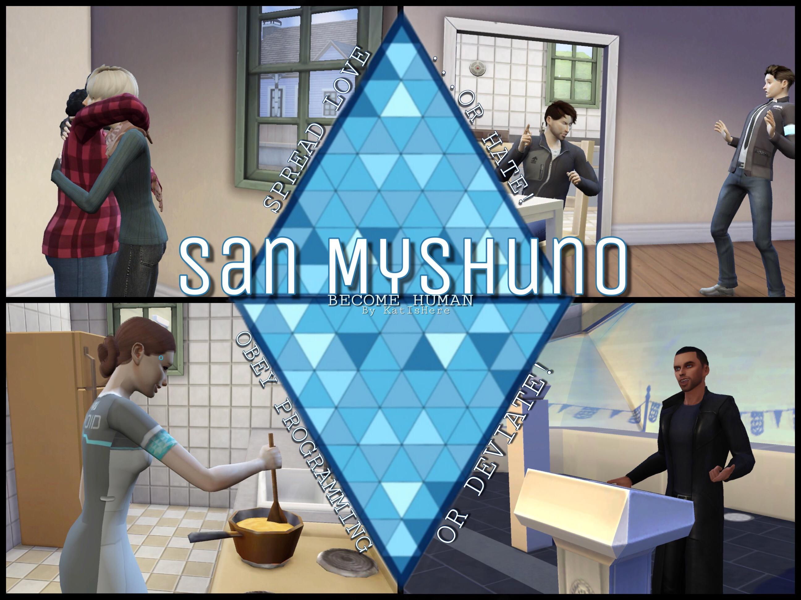 Mod The Sims - San Myshuno: Become Human (Detroit: Become Human