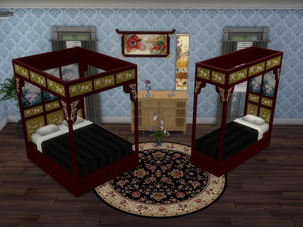Кровати Азиатская коллекция