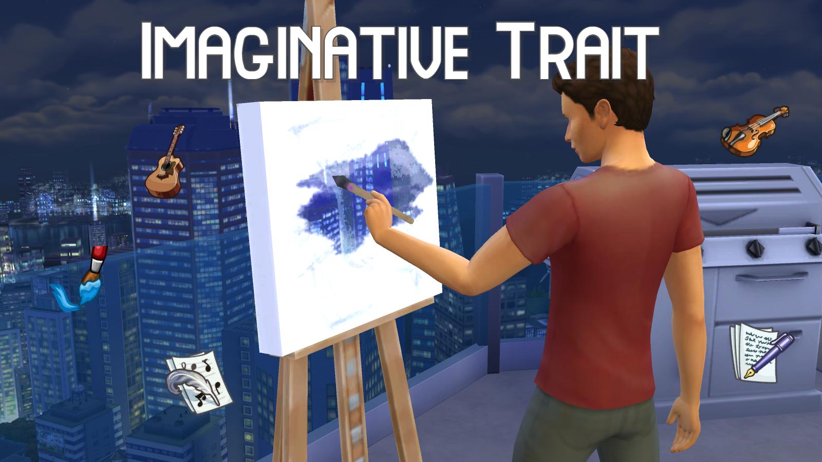 Мод Образная черта для Sims 4