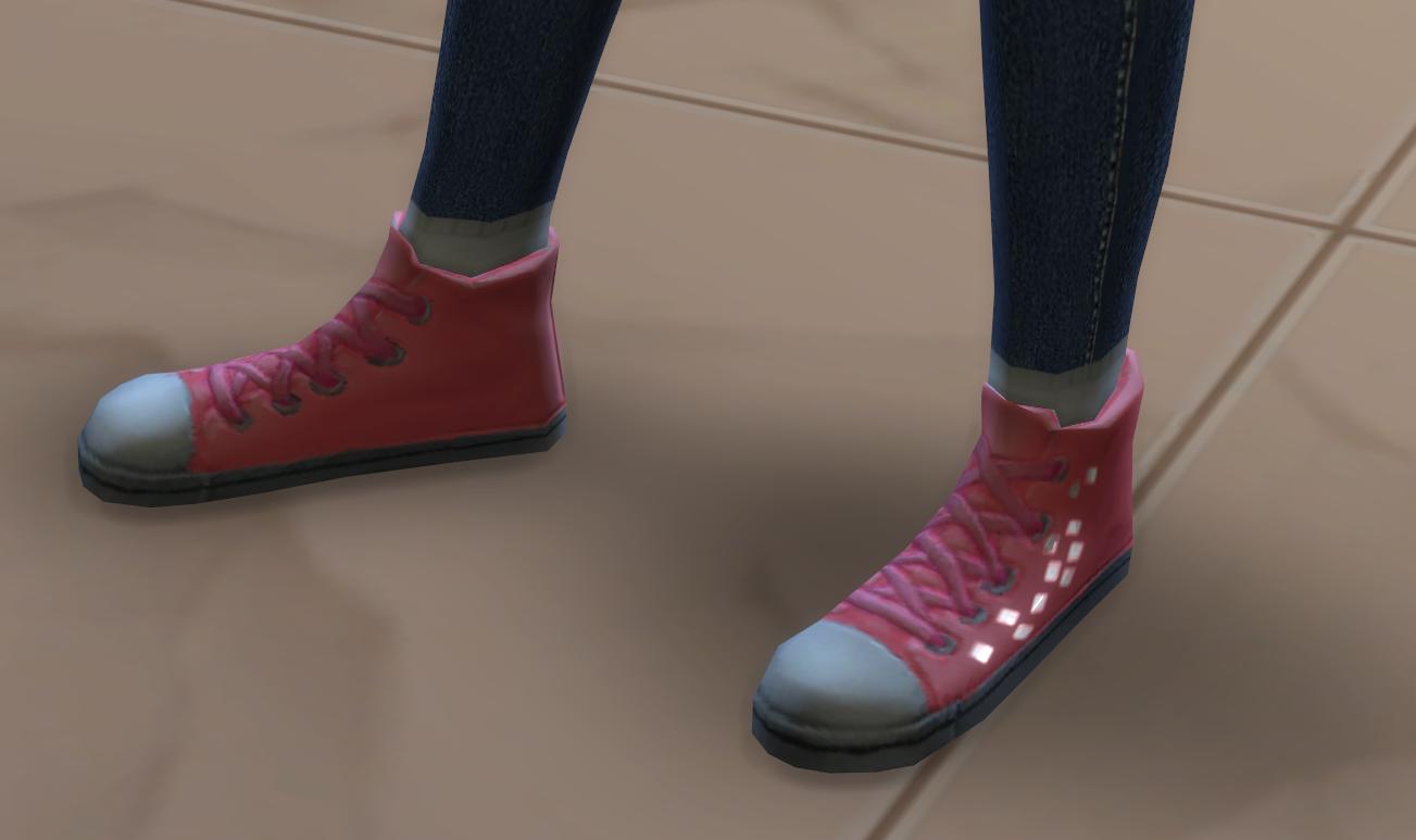 Мод Блестящая обувь