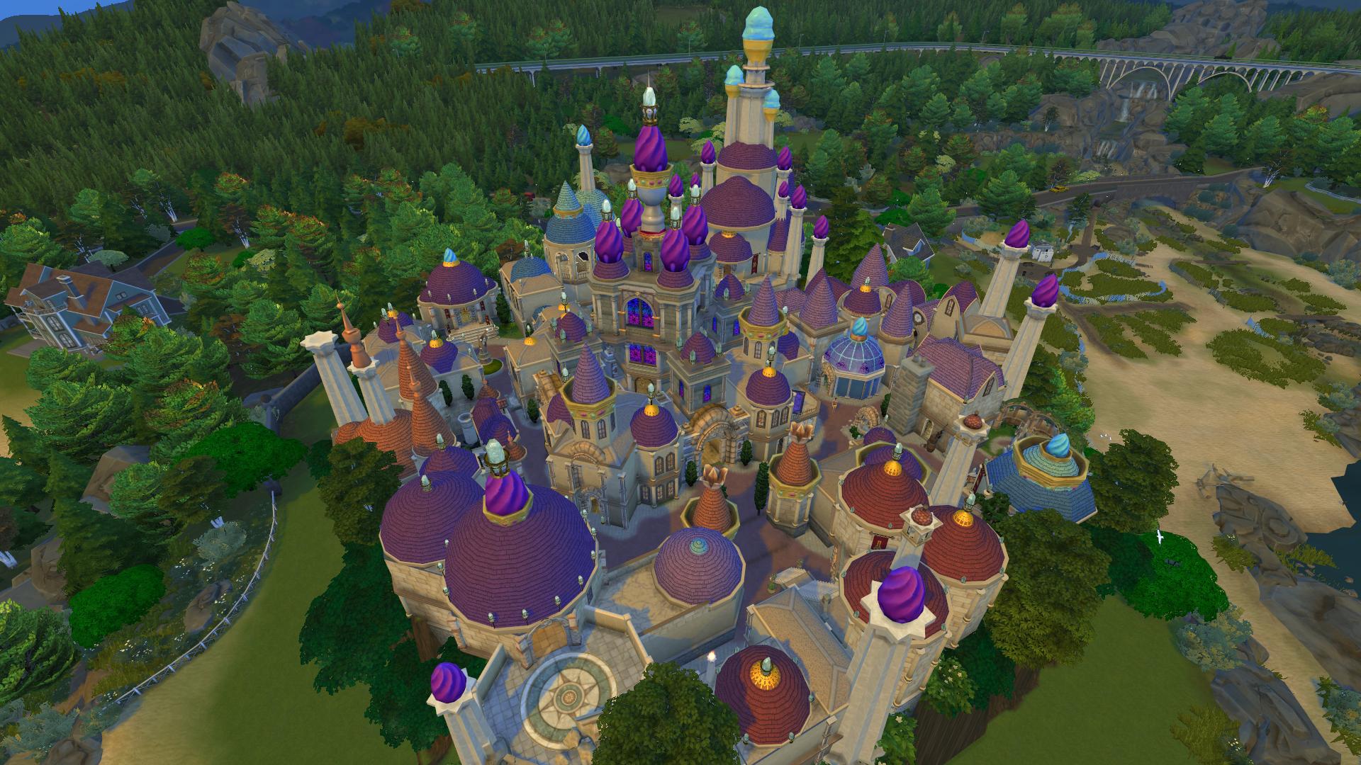 Плавающий город перестроен в The Sims 4