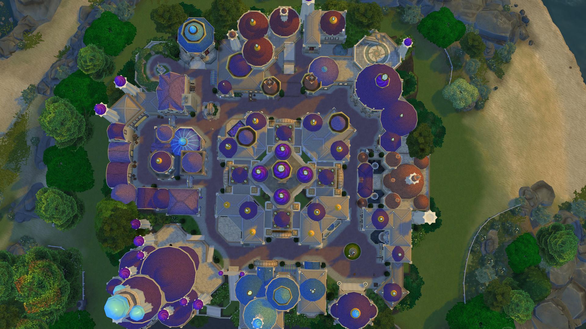Mod The Sims - Dalaran || The Floating City Rebuilt In The