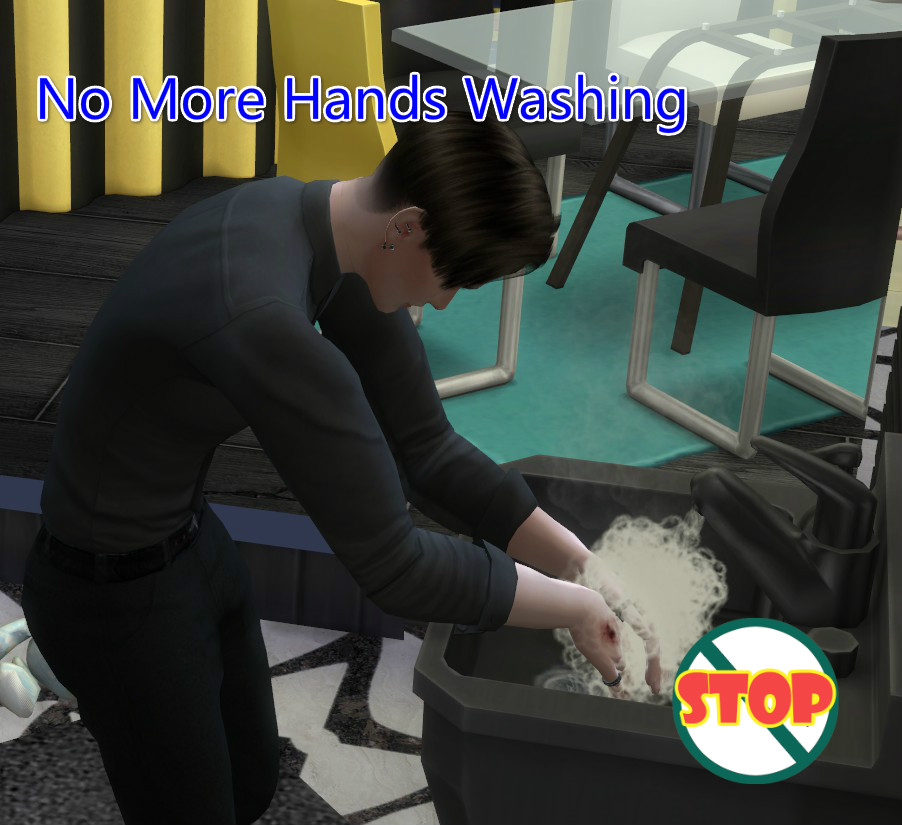 Мод Нет больше мытья рук