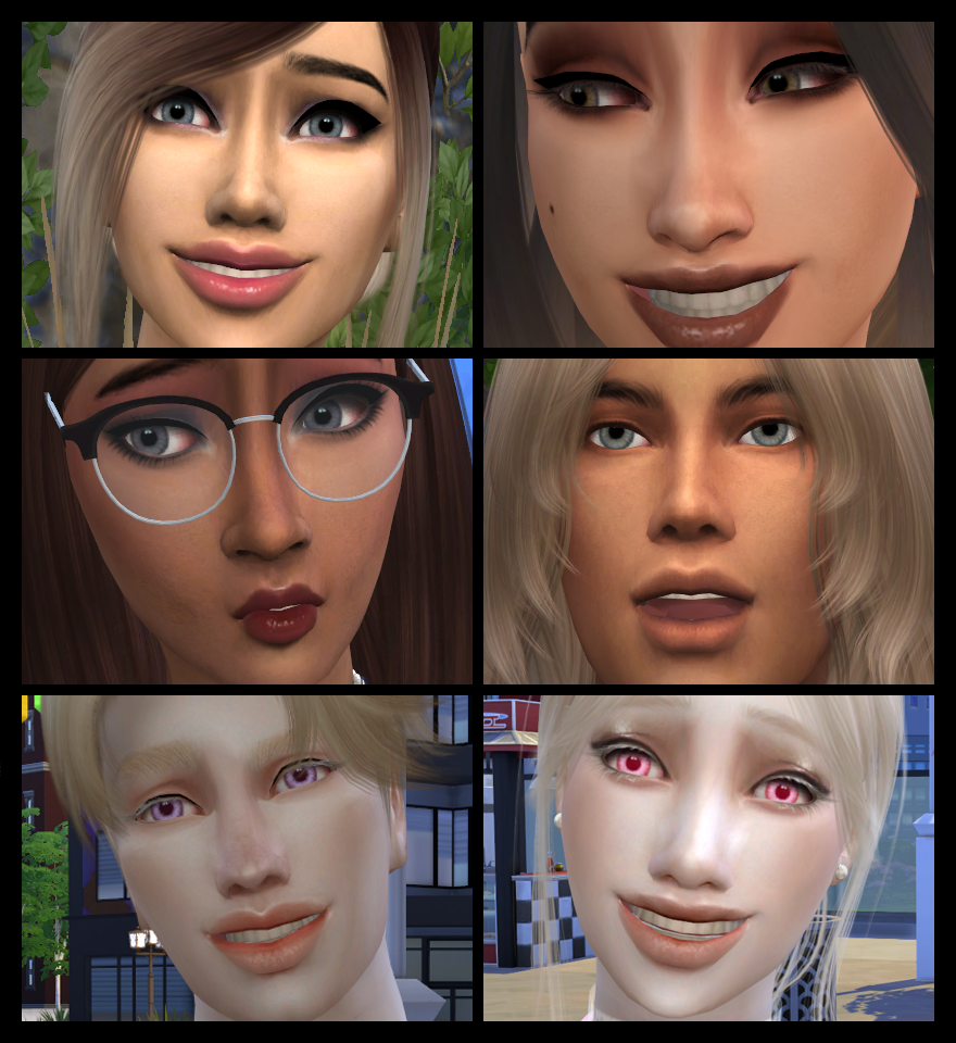 Mod The Sims - Starlet Eyes - Default Eye Replacements and