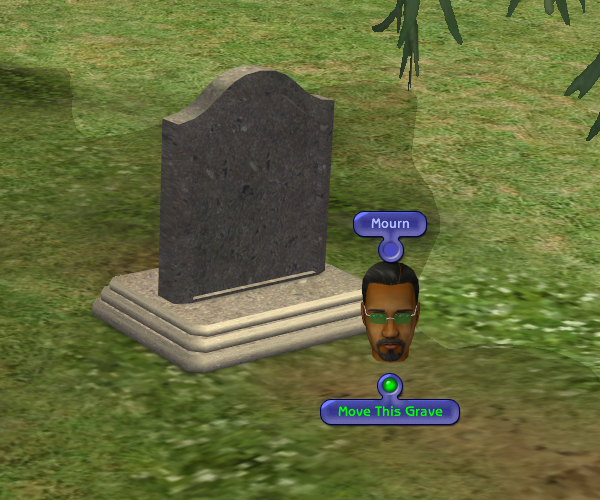 Mod The Sims - No Death Type Loss When Moving Tombstones to