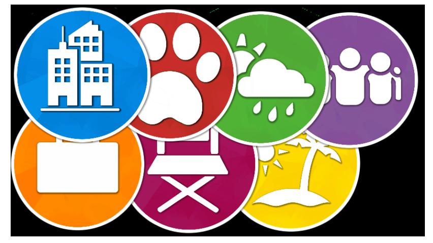 Значки панели задач Sims 4 Expansion