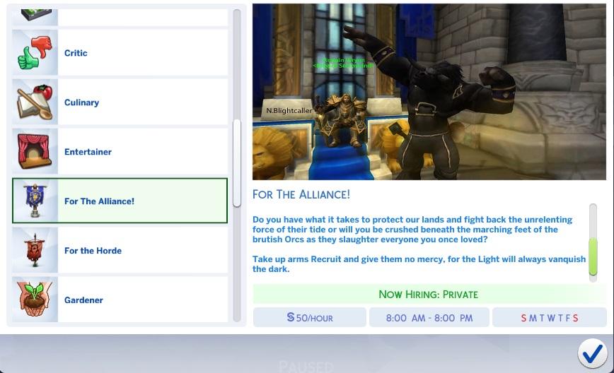 Custom Career-For Alliance