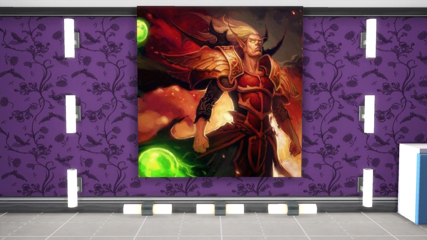 Мод Картины World of Warcraft