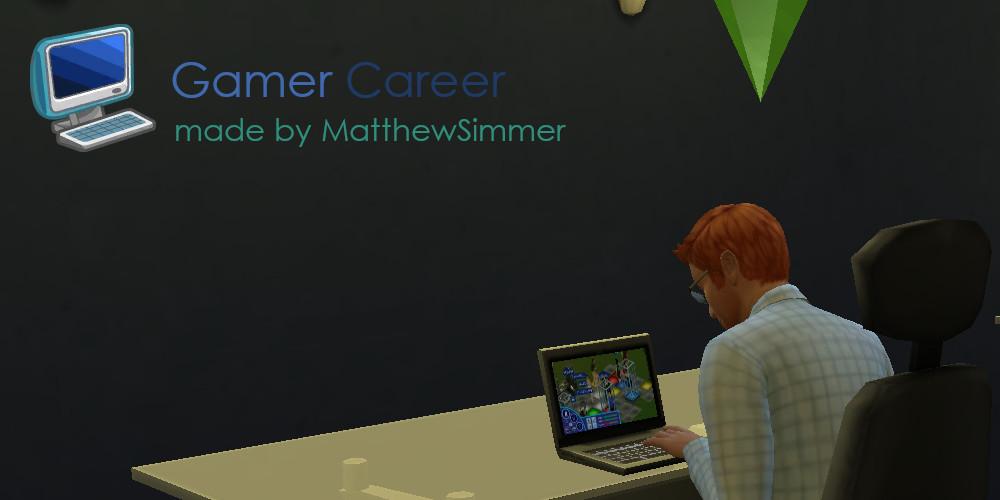 Sims 4 Custom Careers-Game