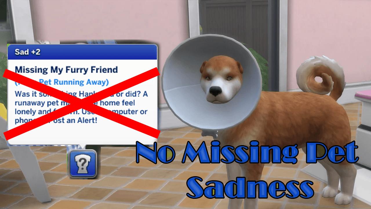 Мод Нет пропавших без вести домашних животных