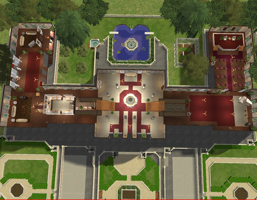 Mod The Sims The Royal Palace Of Belgium In Brussels No Cc