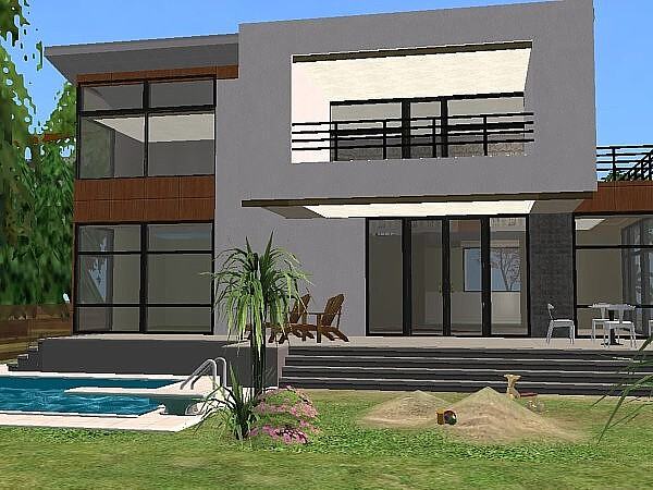 Mod The Sims Modern Central Europen House No 1