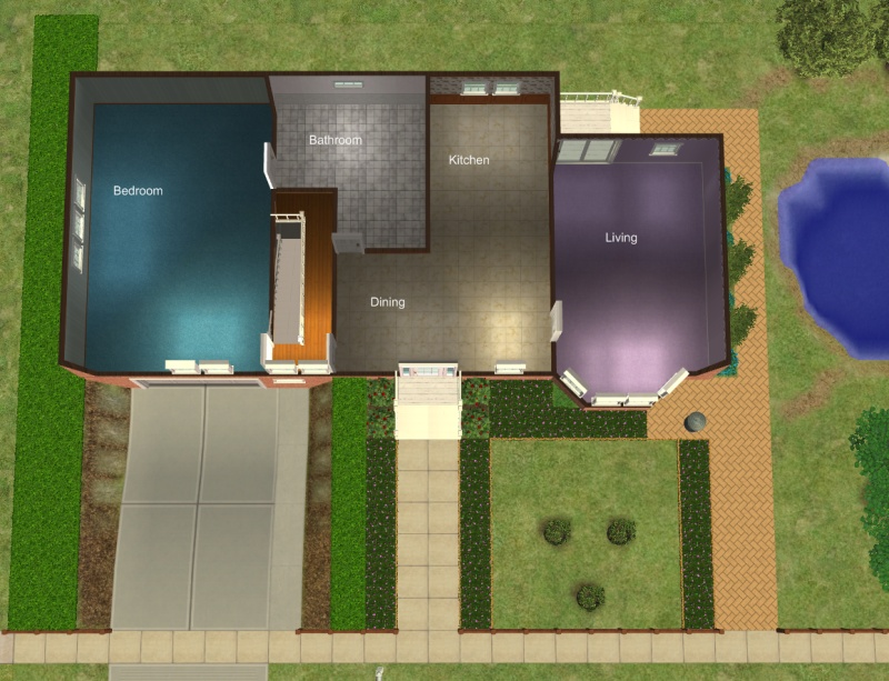 house with basement garage. Advertisement  Mod The Sims 23 Central Drive House with basement garage and no CC