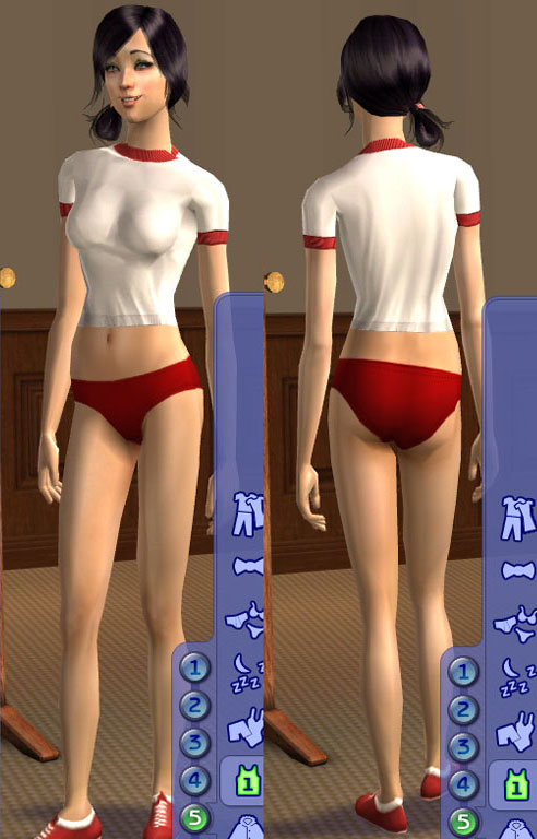 Mod The Sims - Japanese school swimwear: www.modthesims.info/d/229136