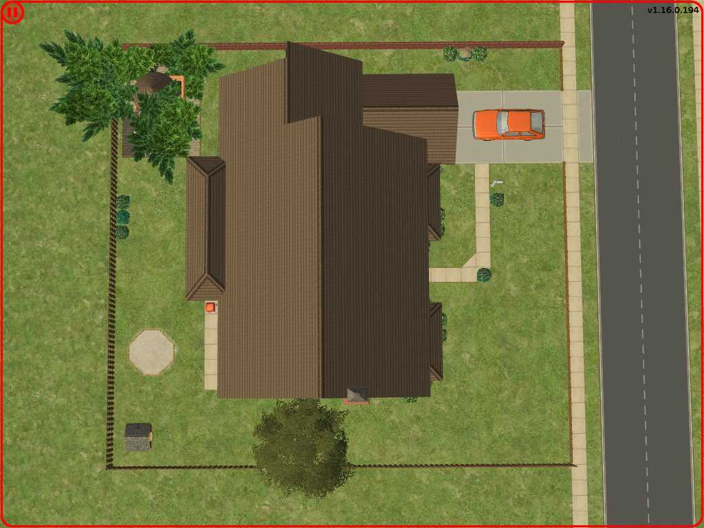 Mod the sims the simpsons house a great family home for The view house