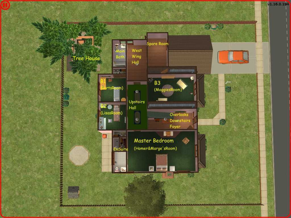 mod the sims the simpsons house a great family home