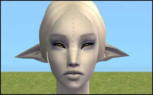 Mod The Sims - Large-Eared Elf Face Template