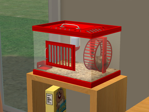 mod the sims    tribbles   new small pet new cage and