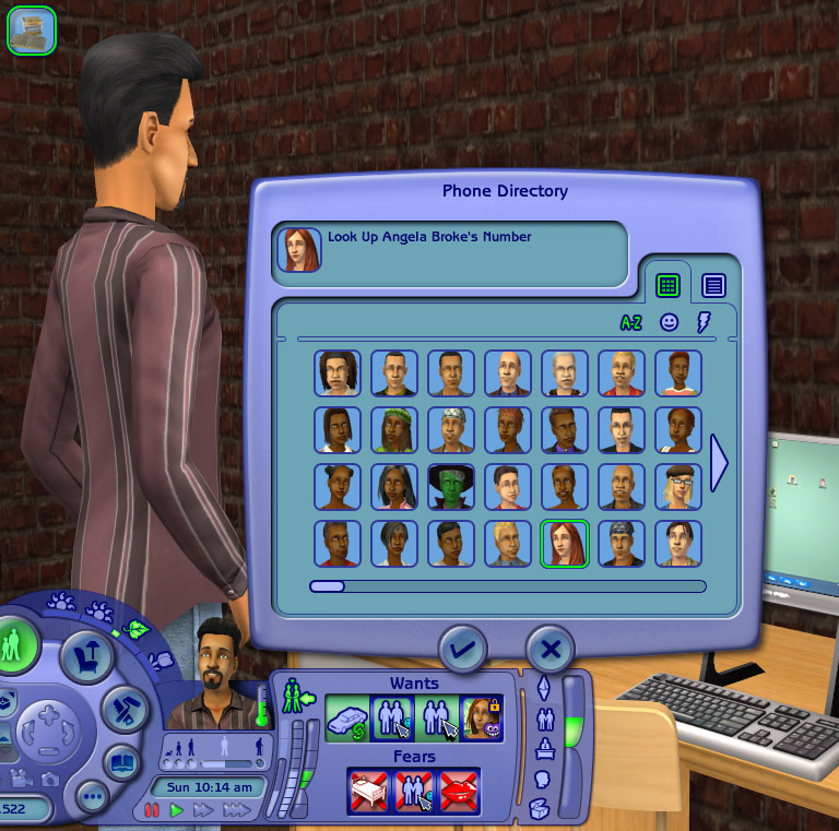 Mod The Sims - -Phae's Phone Book- Look Up Neighbors' Numbers!