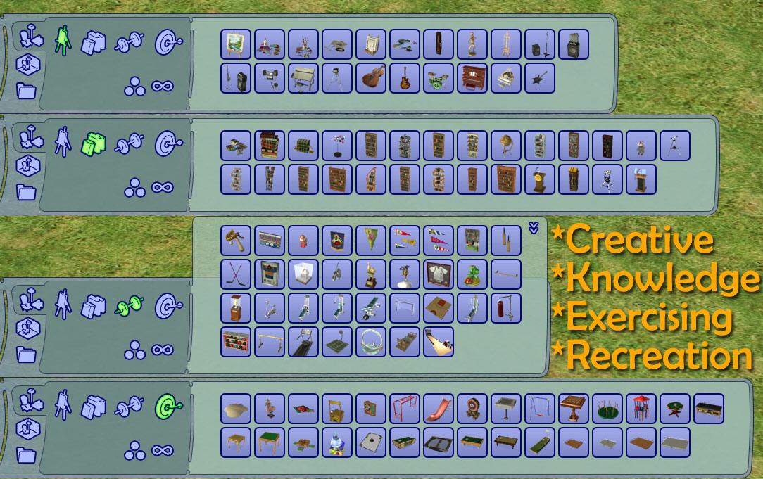 Mod The Sims - Catalog Cleanup Mod V2