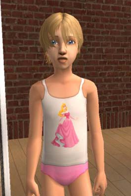Mod The Sims - -Disney Princess- More Real Little Girl Undies ...