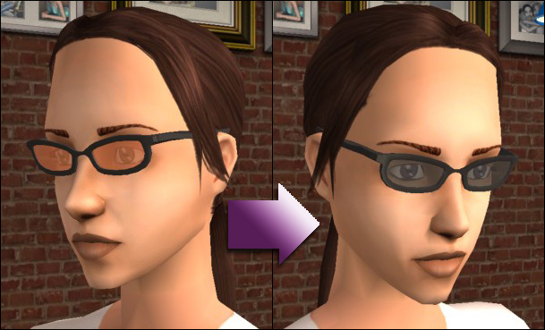 online frames glasses  sims 2 geek glasses