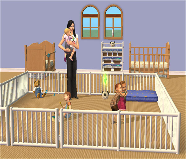 Mod the sims tiny tikes nursery necessities brand new modded