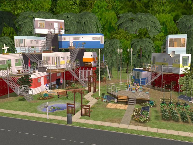 Mod The Sims - -Redneck Mansion- Includes New Meshes!