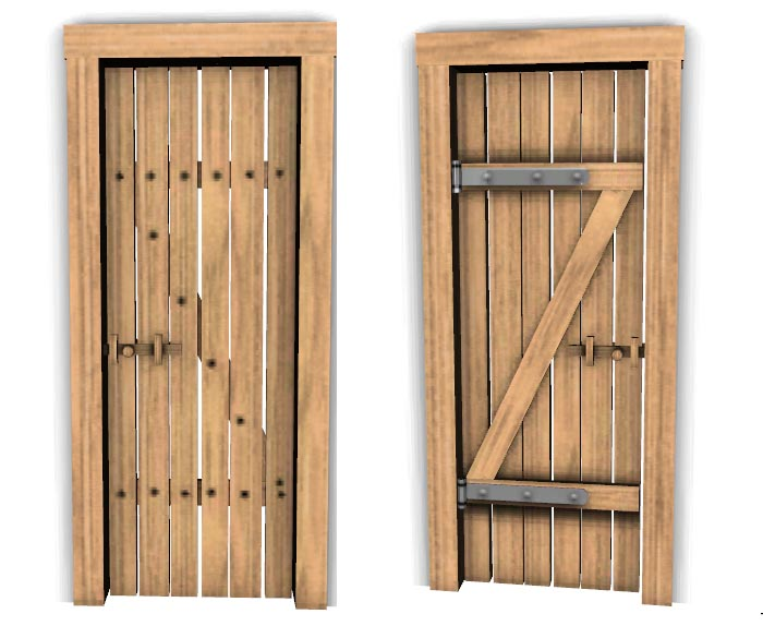 Pdf diy simple wood door download rockler woodworking and for Simple wooden front door designs