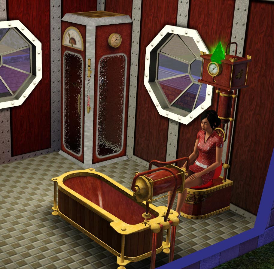 Mod the sims steampunk accessories Sims 3 home decor photography