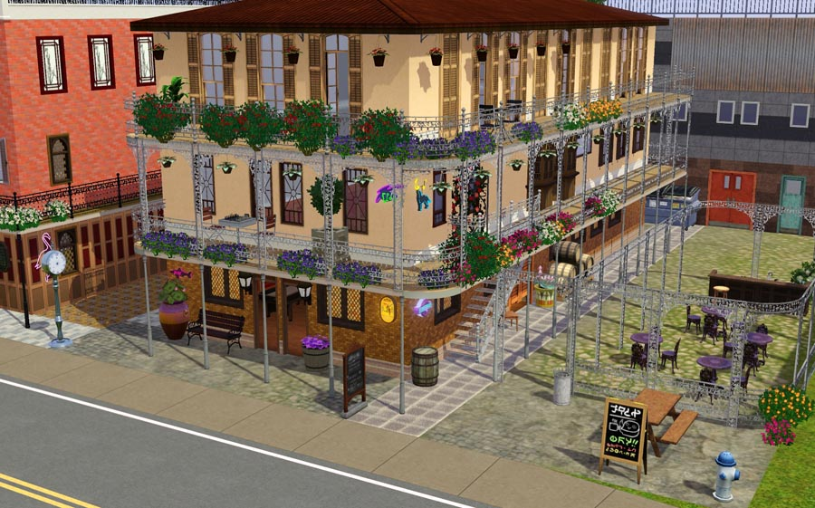 Mod The Sims Southern Charm A Tribute To New Orleans