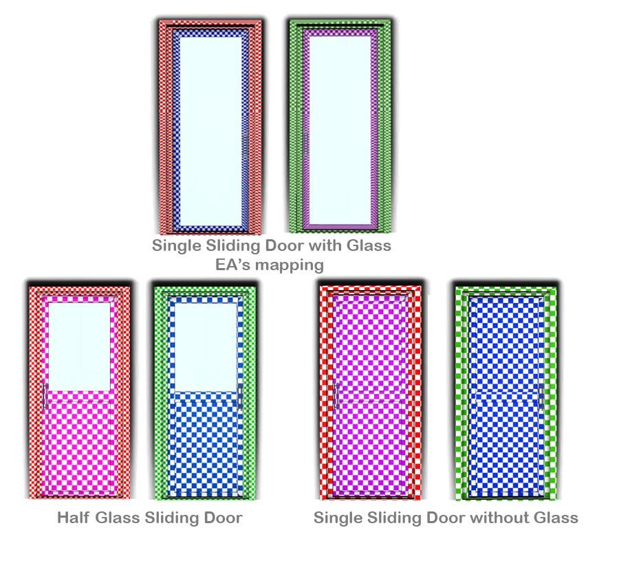 Sliding Doors The Sims 4: Single Tile Sliding Doors